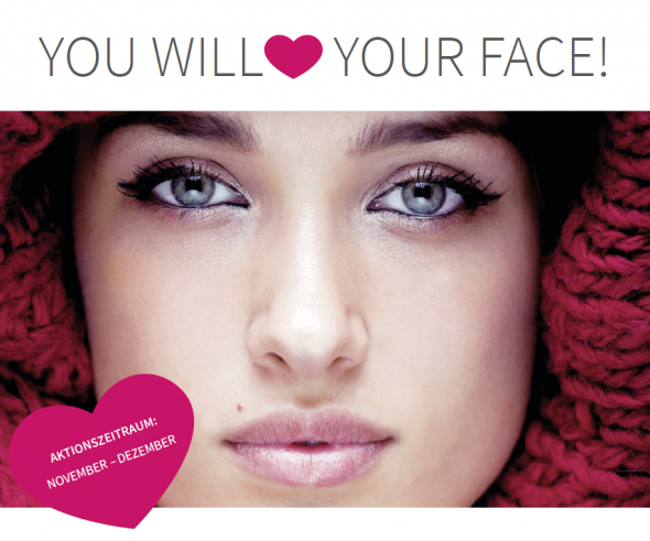": ""YOU WILL LOVE YOUR FACE! """